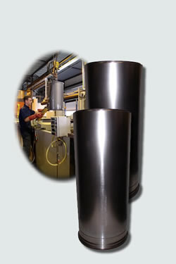ductile ceramic coating for hydraulics